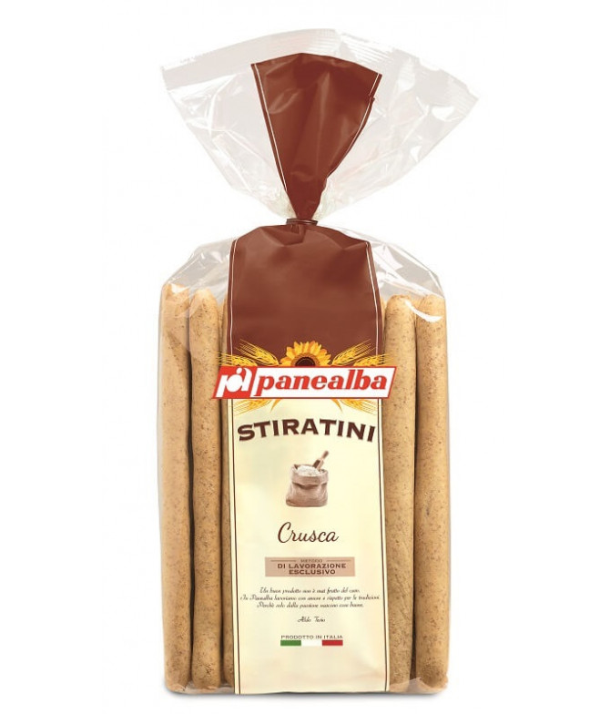 Panealba Gressino Stiratini Integral 250gr T