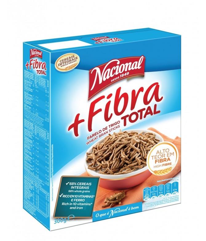 Cereais + Fibra Total da Nacional