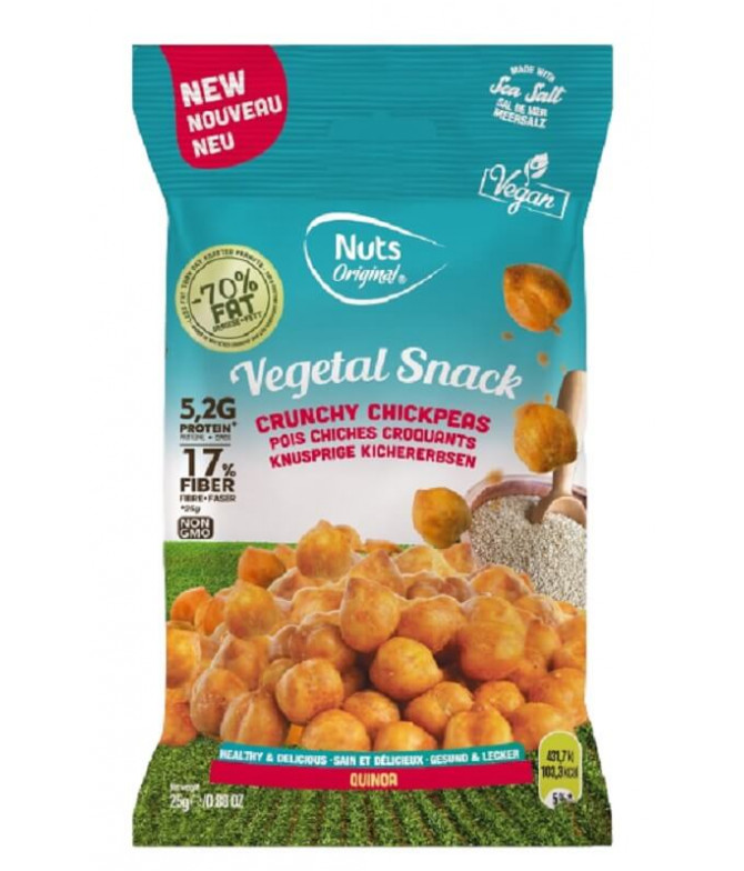 Nuts Original Garbanzos & Quinoa 25gr T