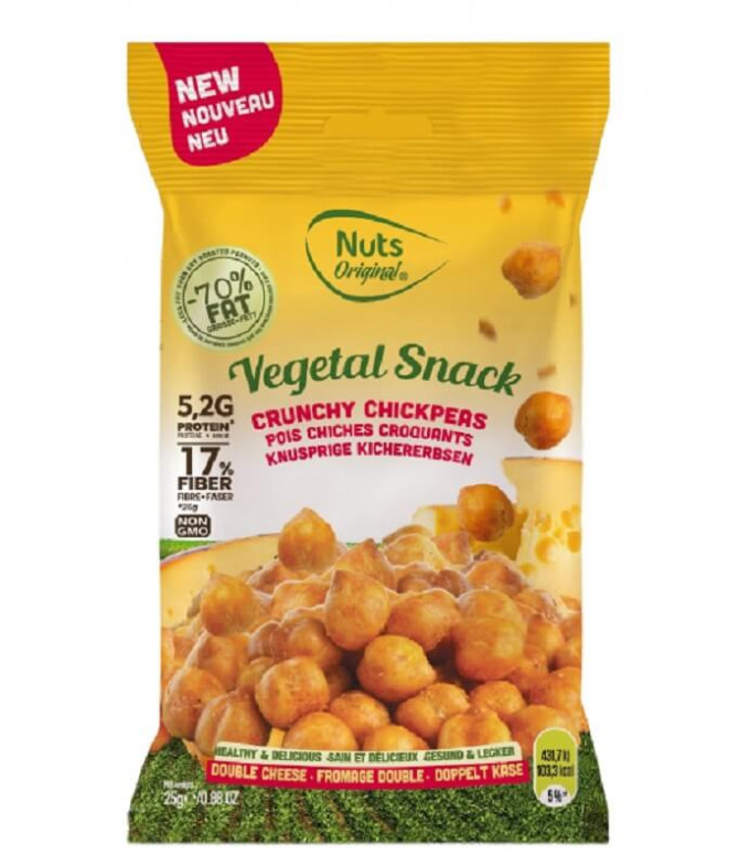 Chickpeas Garbanzos Doble Queso 25gr T