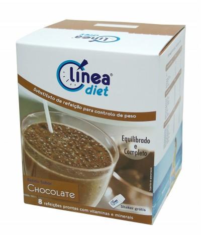 Línea Diet Batido de Chocolate 8 un x 42 gr