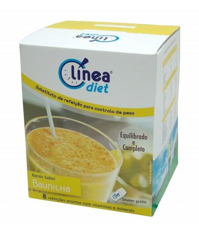 Línea Diet Batido de Baunilha 8 un x 42 gr