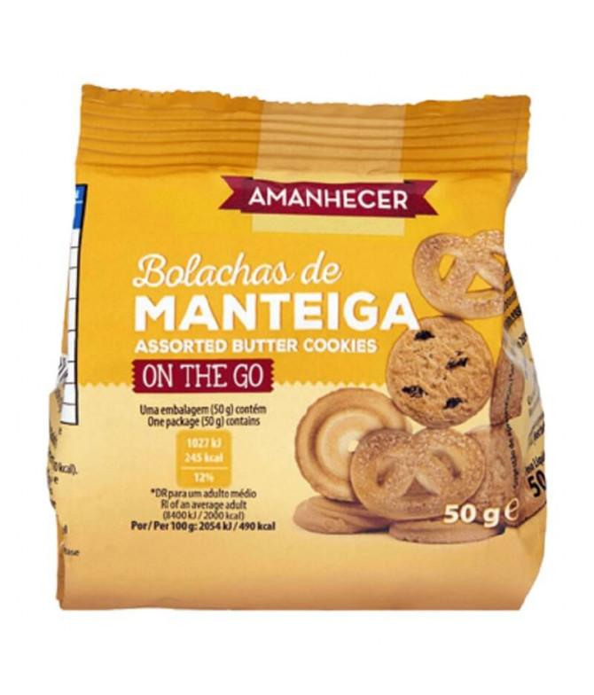 Amanhecer Bolacha Manteiga Sortido 50gr