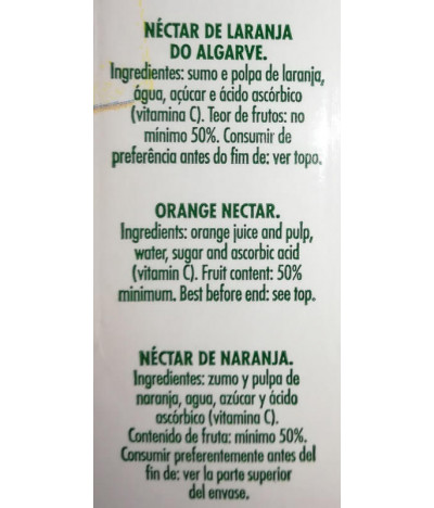 Compal Néctar Laranja Algarve 33cl