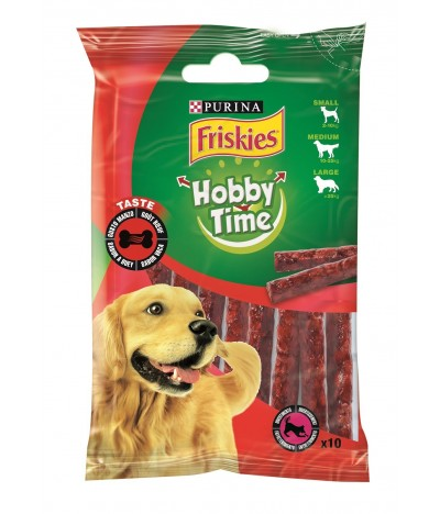 Friskies 10 Sticks Hobby Time para Cão Sabor a Carne