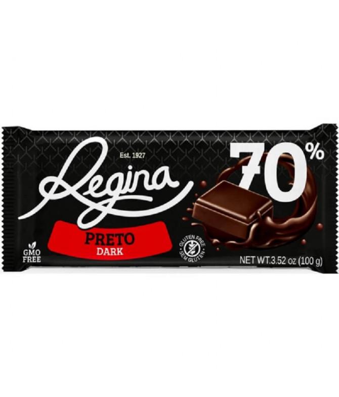 Regina Chocolate Preto 70% 100gr