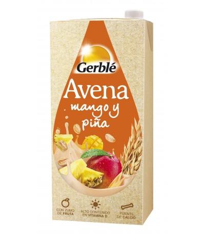 Gerblé Bebida de Aveia Manga e Ananás SEM LACTOSE 1 litro