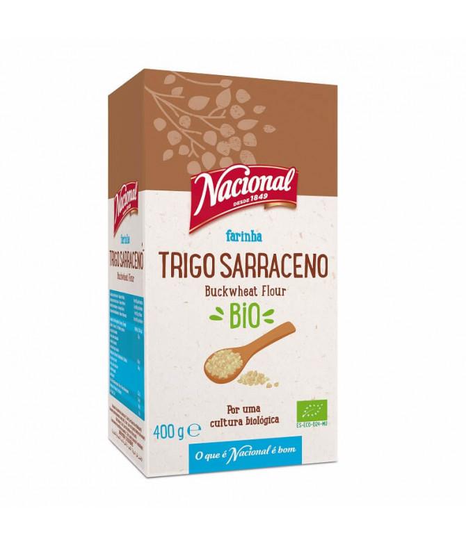 Nacional Farinha Trigo Sarraceno BIO 400gr