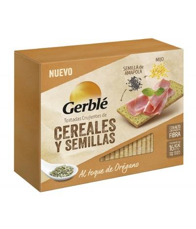 Gerblé Tostas de Millet e Sementes de Papoila SEM GLÚTEN 100 gr