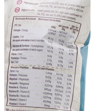 Spall's Batata Frita Doce 100gr