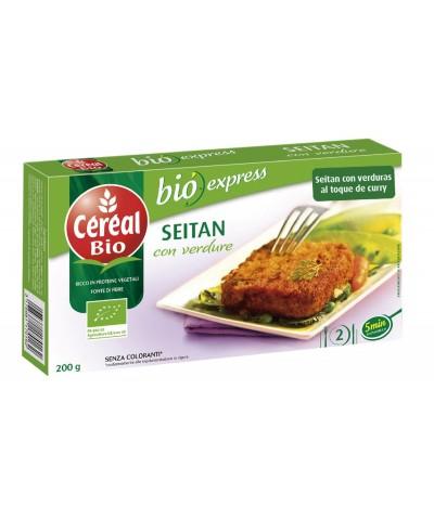 Céréal Bio Seitan com Verduras 200 gr