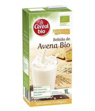 Céréal Bio Bebida de Aveia BIO SEM LACTOSE 1 litro