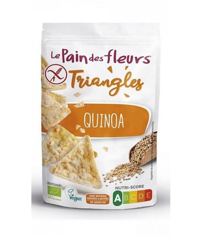 Le Pain des Fleur Triangulos Quinoa BIO 50gr T