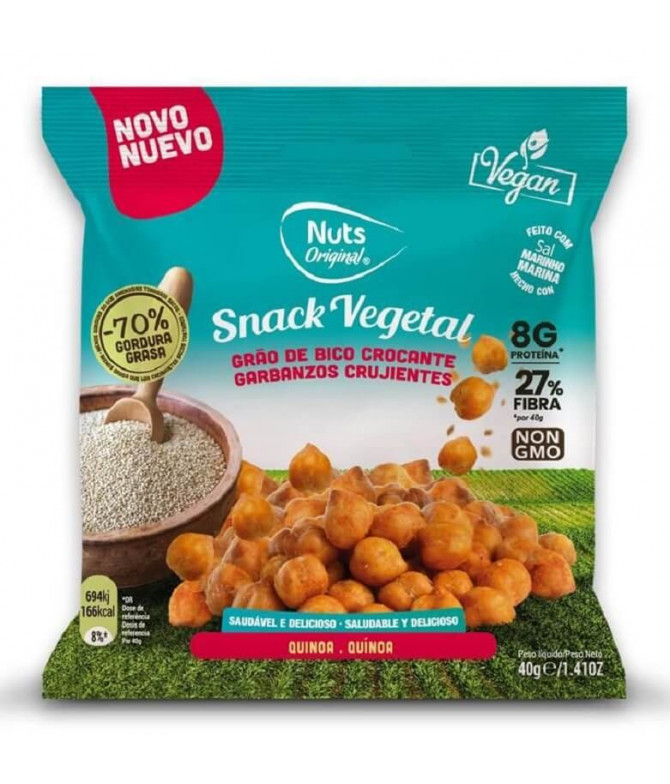 Nuts Original Garbanzos & Quinoa 40gr T