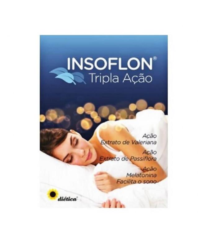 Diética Insoflon Triple Acción SUEÑO 30un T