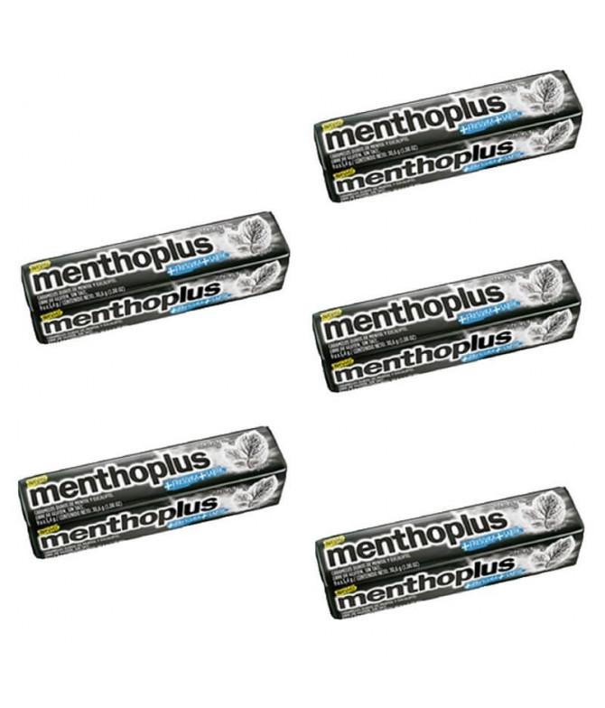 PACK 5 Menthoplus Fuerte Caramelos 31gr T