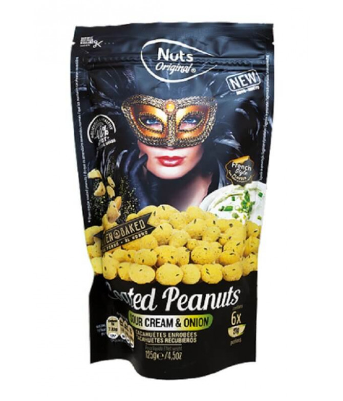 Nuts Original Cacahuete Sour Cream Cebolla 125gr T