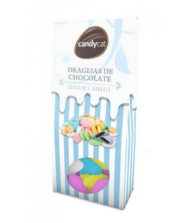 Candycat Drageia Chocolate 160gr