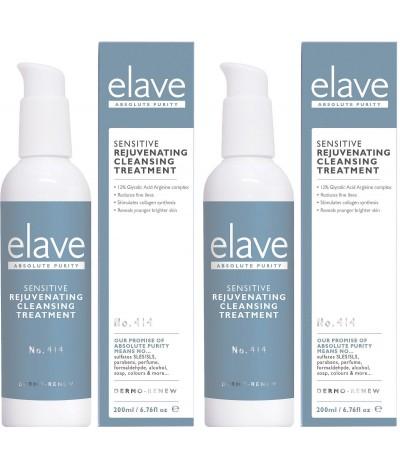 PACK 2 Elave Gel de Limpeza Rejuvenescedor Peles Sensíveis