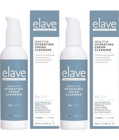 PACK 2 Elave Leite de Limpeza Hidratante 200ml