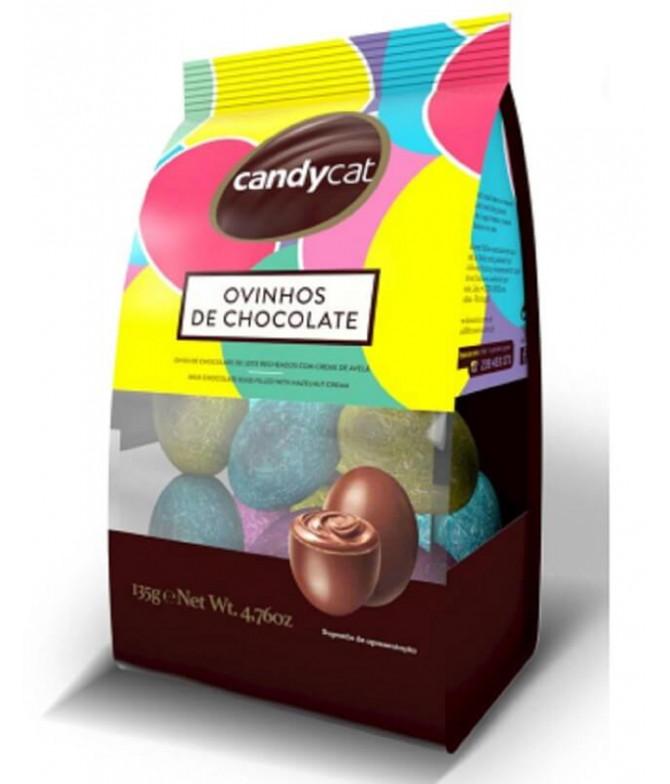 Candycat Ovinho Chocolate 135gr