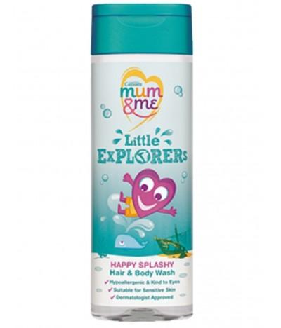 Gel de Baño Litlle Explorers Cuerpo y Cabello Mum & Me 300 ml