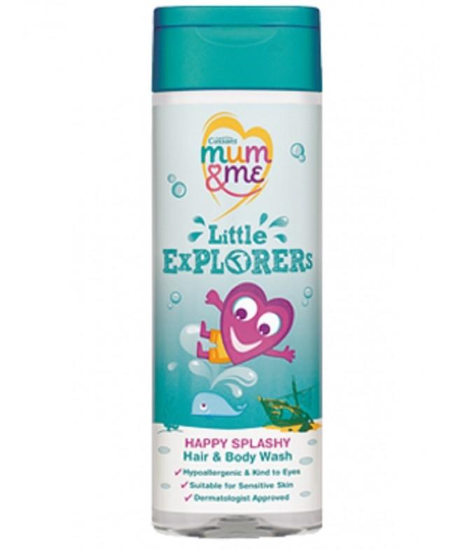 Gel de Banho Litlle Explorers Corpo e Cabelo Mum & Me 300 ml