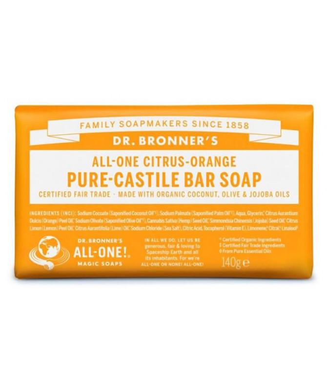 Dr Bronners Sabonete Citrus BIO 140gr