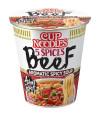 Nissin Cup Noodles Sopa Carne 5 Especias 64gr T