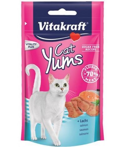 Vitakraft Yums de Salmão & Omega 3 para Gato 40gr