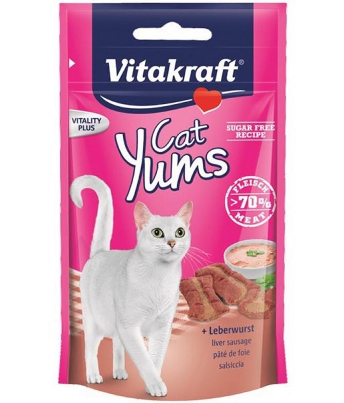 Vitakraft Yums com Patê de Fígado para Gato 40gr