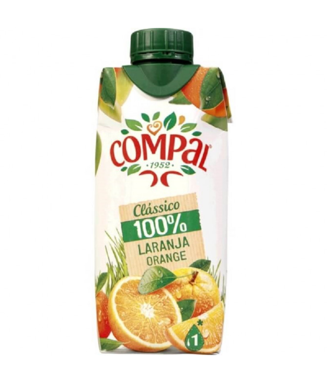 Compal Clássico Zumo Naranja 330ml T