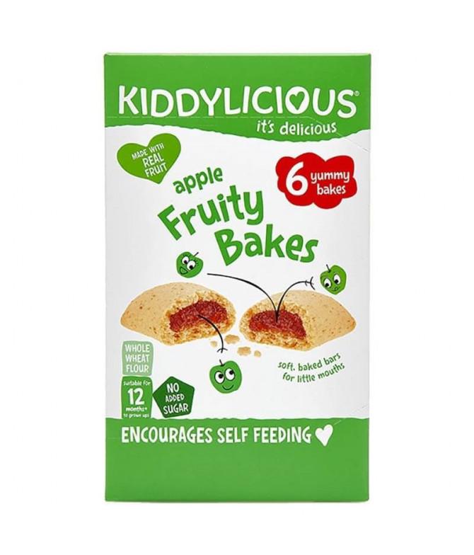 Kiddylicious Fruity Bakes Maçã 6x22gr