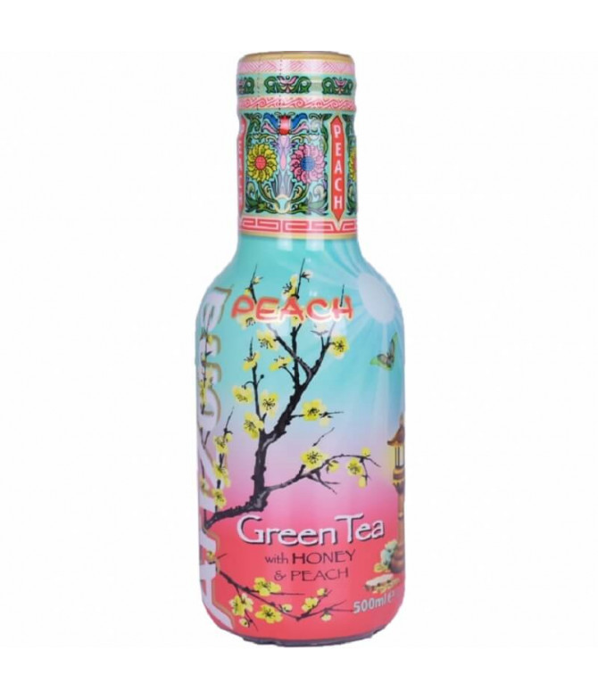Arizona Ice Tea Chá Verde Mel & Pêssego 500ml