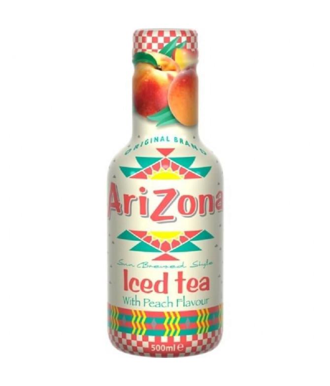Arizona Ice Tea Chá Preto Pêssego 500ml