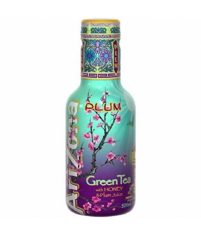 Arizona Ice Tea Té Verde Miel & Ciruela 500ml T