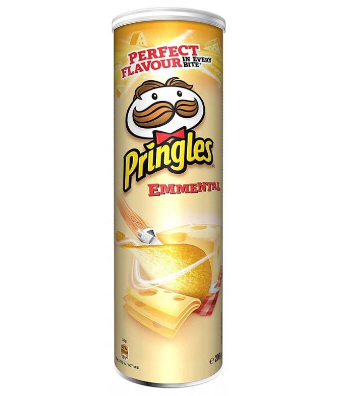 Pringles Sabor Queso Emental 200gr T