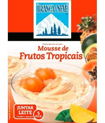 Mousse Frutos Tropicales Branca de Neve