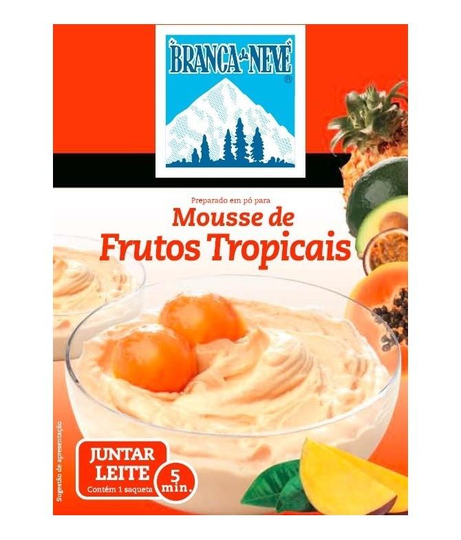 Mousse Frutos Tropicais Branca de Neve