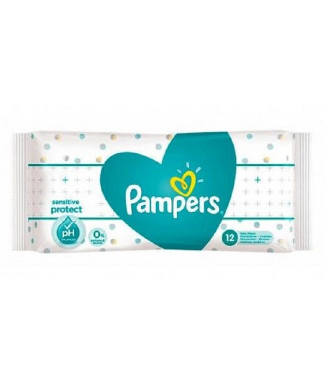 Pampers Toalhita Sensitive Protect 12un