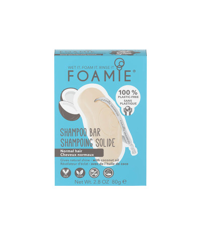 Foamie Champú Sólido Aceite de Coco 80gr T