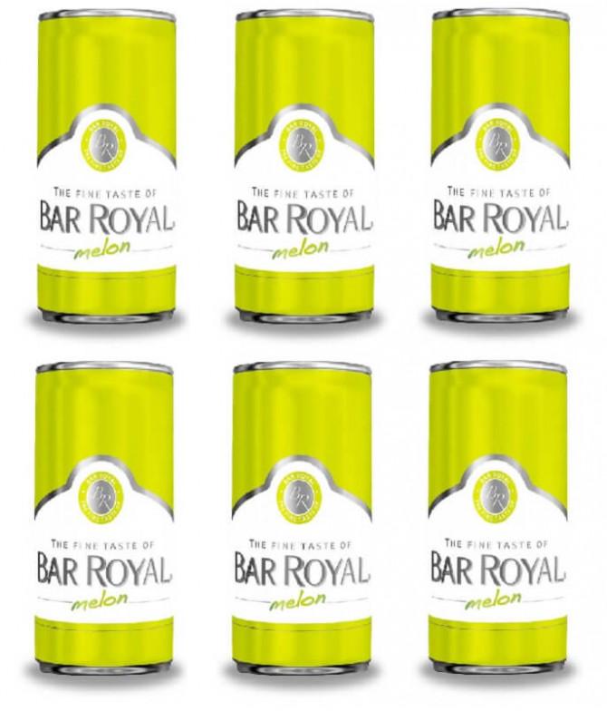 Bar Royal Espumante Melão 6x200ml