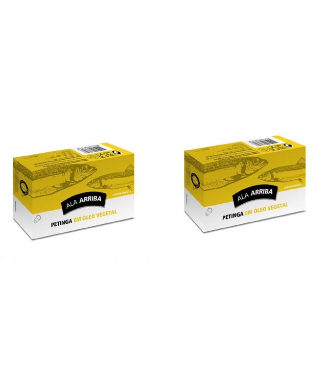 PACK 2 Sardinas en Aceite de Girasol Ala Arriba 120 gr