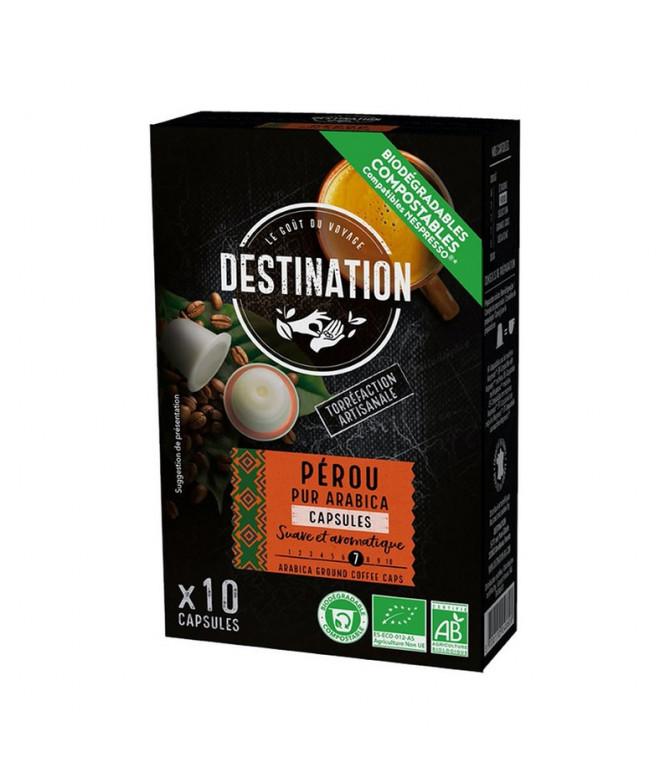 Bio Destination Café Perú Comp Nespresso 10un