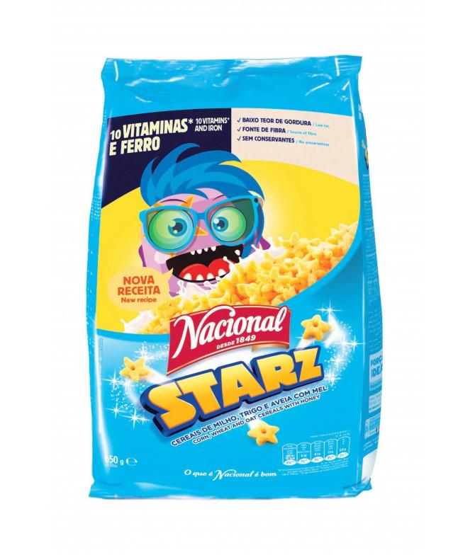 Nacional Cereais Starz 650gr