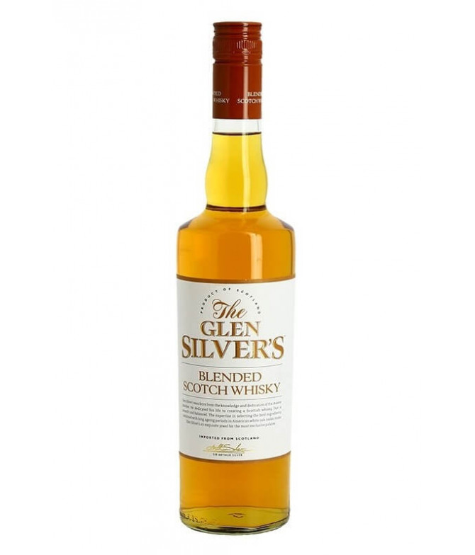 Glen Silver's Blended Scotch Whisky 70cl          T