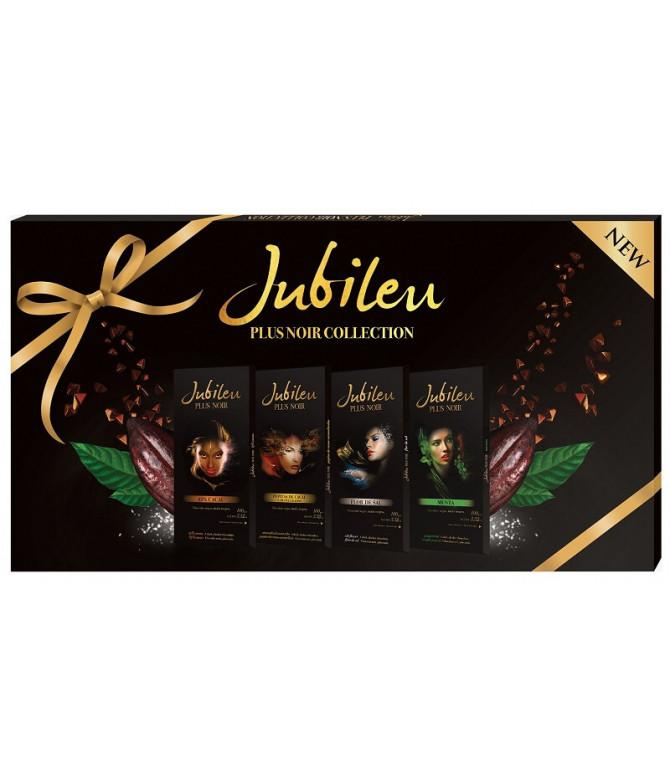 Jubileu Plus Noir Collection Chocolate 4x100gr