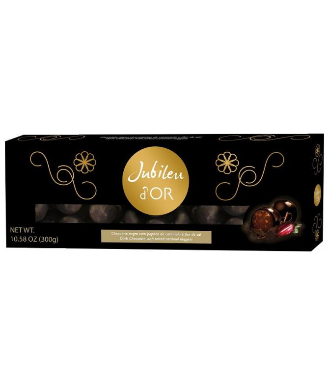 Jubileu d'Or Bombom Chocolate Preto 300gr