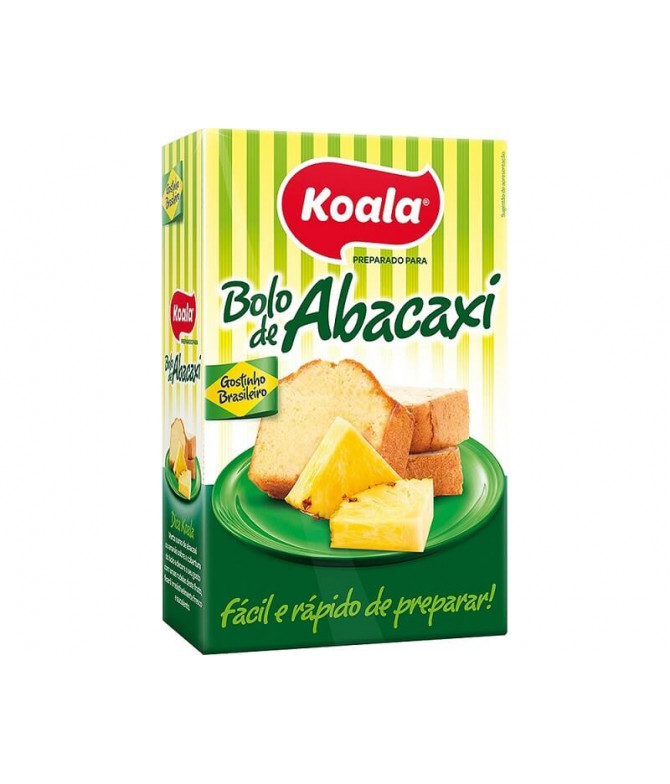 Koala Preparado Bolo Abacaxi 435gr