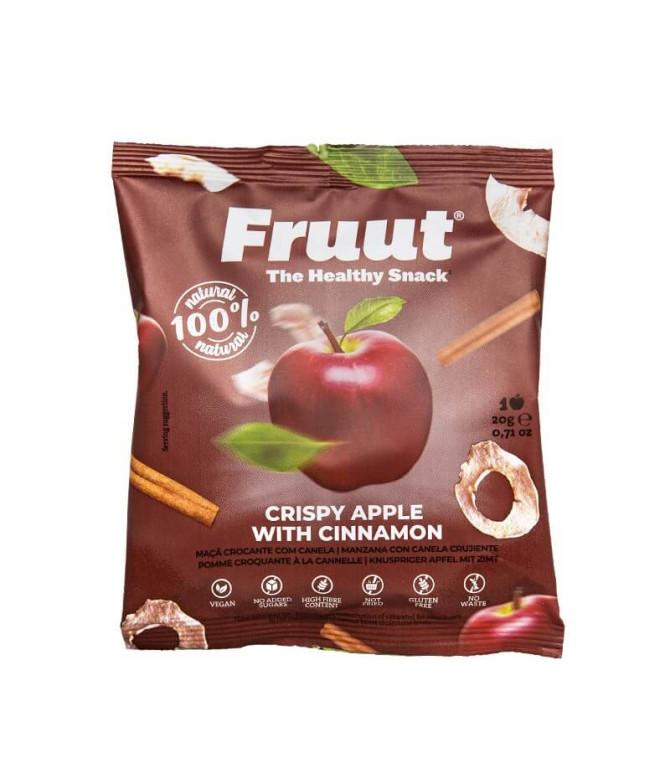 Fruut Snack 100% Manzana Canela 20gr T